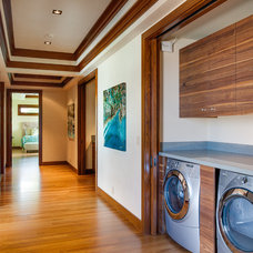 Contemporary Laundry Room by Norelco Cabinets Ltd