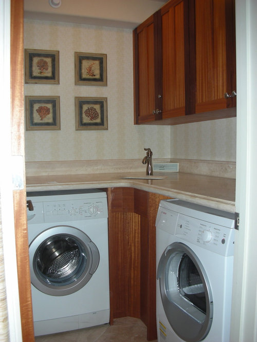 Bathroom Corner Sink Small Laundry Room Design Ideas, Remodels & Photos