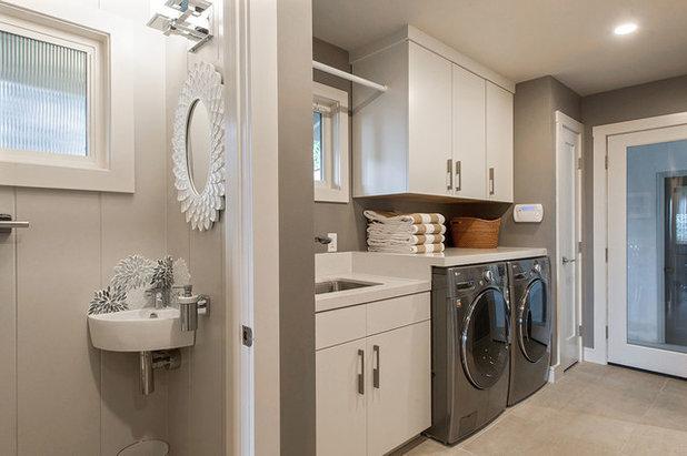 Contemporary Laundry Room Healdsburg Hillside Ranch