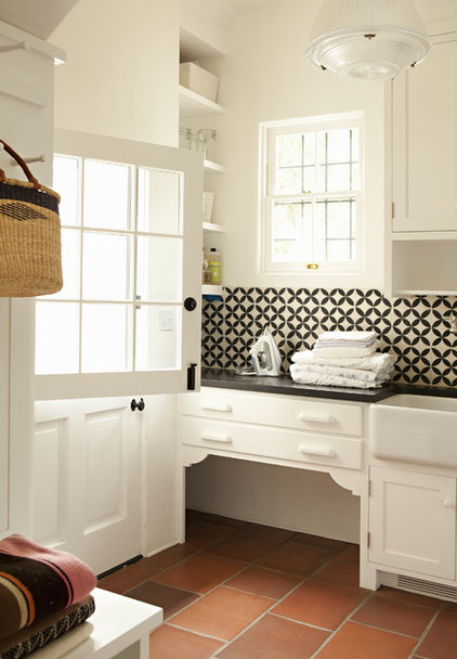 Traditional Laundry Room by Tim Barber LTD Architecture & Interior Design