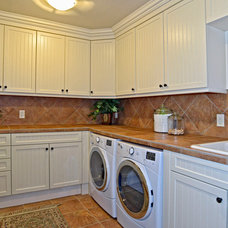 Traditional Laundry Room by Celebrity Communities