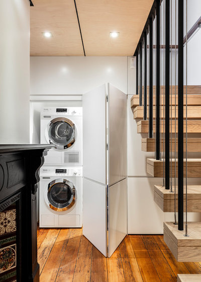 Contemporary Laundry Room by Archisoul Architects
