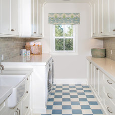 Traditional Laundry Room by Toblesky-Green Architects