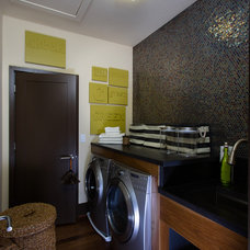 Modern Laundry Room by Insidesign