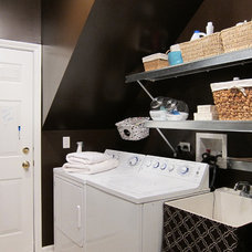 Transitional Laundry Room by Your Favorite Room By Cathy Zaeske