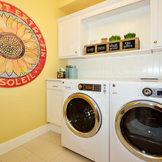 Traditional Laundry Room by Housing & Building Association of Colo. Springs