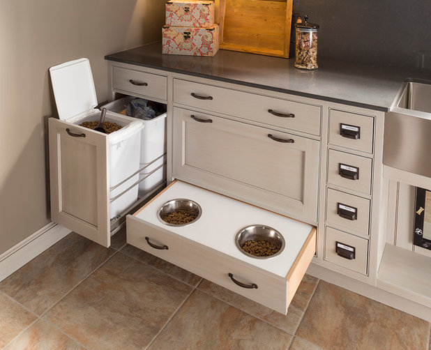 Transitional Laundry Room by Wood-Mode Fine Custom Cabinetry