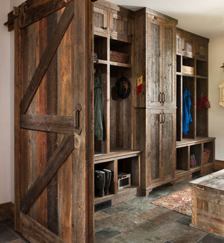 garage entryway ideas - Rustic Mudroom Home Design Ideas Remodel and Decor