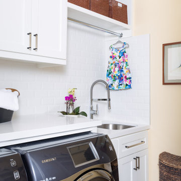 High-End Renovation: Laundry Room
