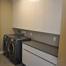 Modern Laundry Room by Palandri Cabinets