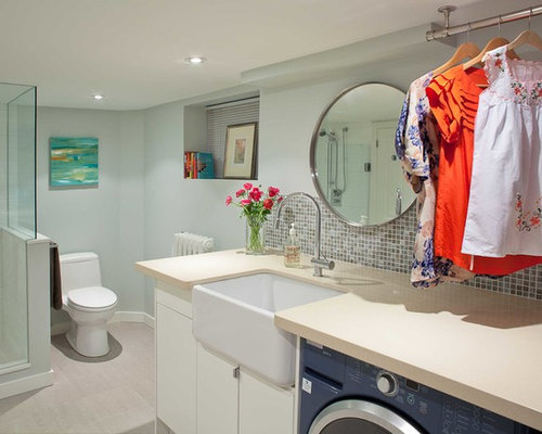 Laundry Bathroom Combo Houzz