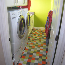 Eclectic Laundry Room by Gravitas, Inc.