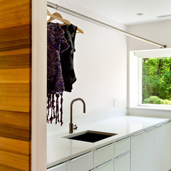 modern laundry room by Jeff Jordan Architects LLC