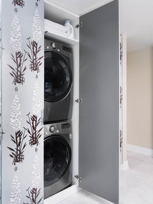 Hidden Washing Machine Houzz