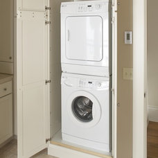 Traditional Laundry Room by TreHus Architects+Interior Designers+Builders