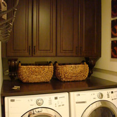 Traditional Laundry Room by Lisa Wolfe Design, Ltd