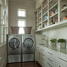 Traditional Laundry Room by Geoff Chick & Associates