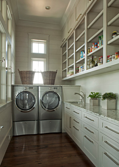Traditional Utility Room by Geoff Chick & Associates