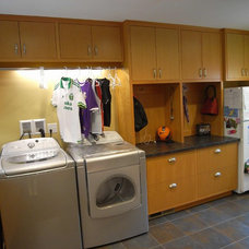 Traditional Laundry Room by Eagle Designs and Woodworking, Inc.