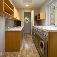 Contemporary Laundry Room by Maienza - Wilson Interior Design + Architecture