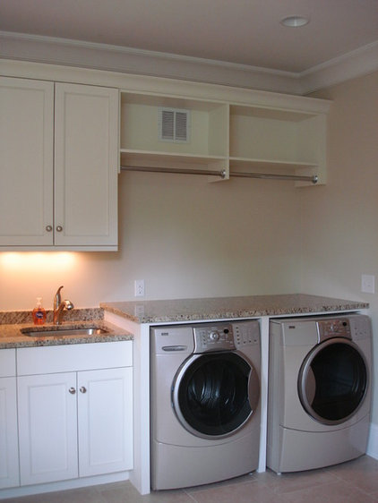 Traditional Laundry Room by Hardwood Creations
