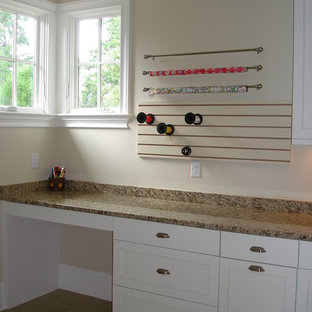 Example of a classic laundry room design in Charlotte
