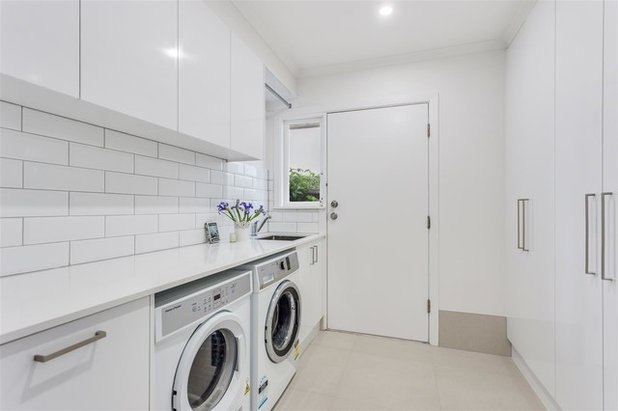 Contemporary Laundry Room by Smith & Sons Renovations & Extensions Australia