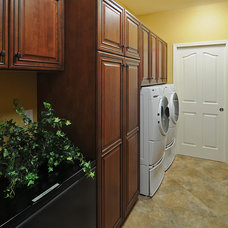 Traditional Laundry Room by Cook Remodeling & Custom Construction