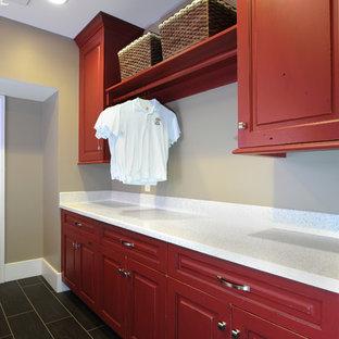 Design ideas for a traditional laundry room in Cincinnati.