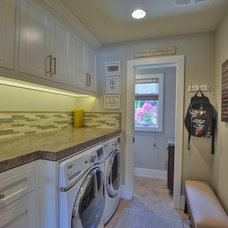 Traditional Laundry Room Home Remodel