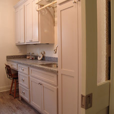 Traditional Laundry Room by Soorikian Architecture