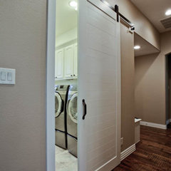 traditional laundry room by DFW Improved