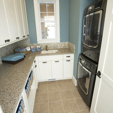 Traditional Laundry Room by Kimberly Fox Designs