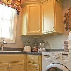 Eclectic Laundry Room by Reflections of You, by Amy, LLC