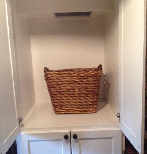 Cabinet Laundry Chute | Houzz