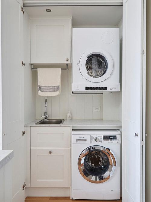 L-Shaped Laundry Closet Design Ideas, Remodels & Photos