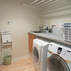 Contemporary Laundry Room by Paradigm Architecture, LLC