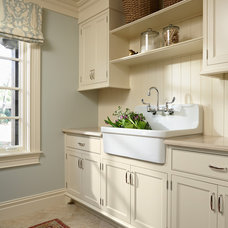 Traditional Laundry Room by Murphy & Co. Design