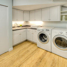 Traditional Laundry Room by HOUSEworks Design/Build General Contractor