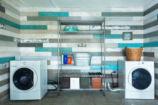 Contemporary Laundry Room by Heather Merenda