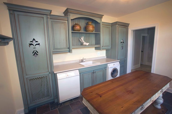 Traditional Laundry Room by MDC Cabinetry & More