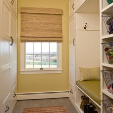 Traditional Laundry Room by Cabin John Builders