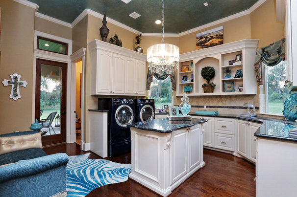 Traditional Laundry Room by Stillwater Builders