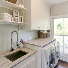 Traditional Laundry Room by Matthew Bolt Graphic Design