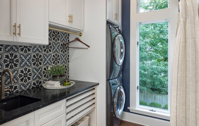 New This Week: 3 Well-Appointed Laundry Rooms, Small to Large