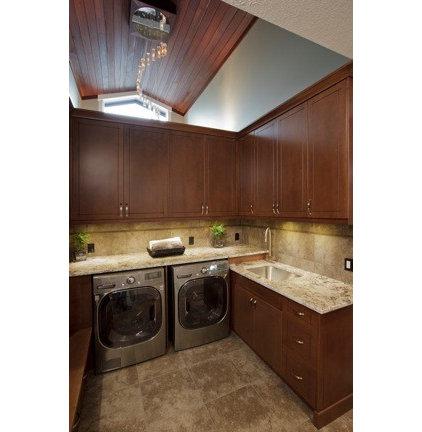 Contemporary Laundry Room by Jade Stone Ltd.