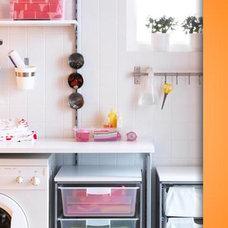 Contemporary Laundry Room by IKEA