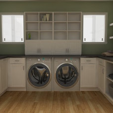 Traditional Laundry Room by IKD - INSPIRED KITCHEN DESIGN
