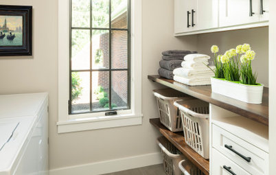 4 Storage and Style Ideas in Top Laundry Rooms of Spring 2020
