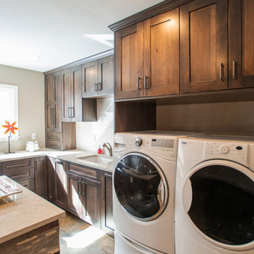 Incredible Laundry and Mud Room